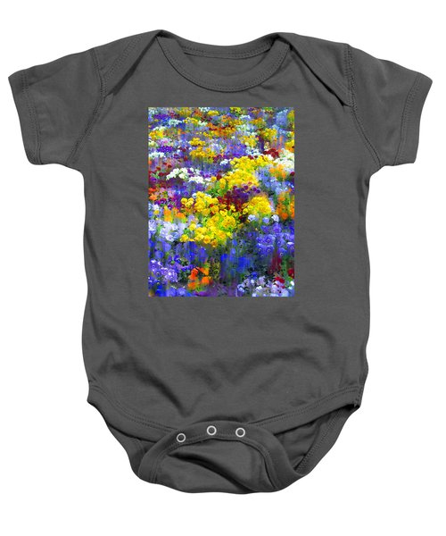 Pansy Party Baby Onesie