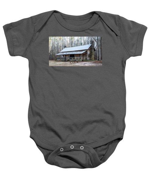 Park Ranger Cabin Baby Onesie