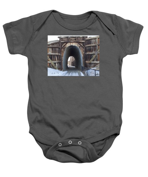 Path In History Baby Onesie