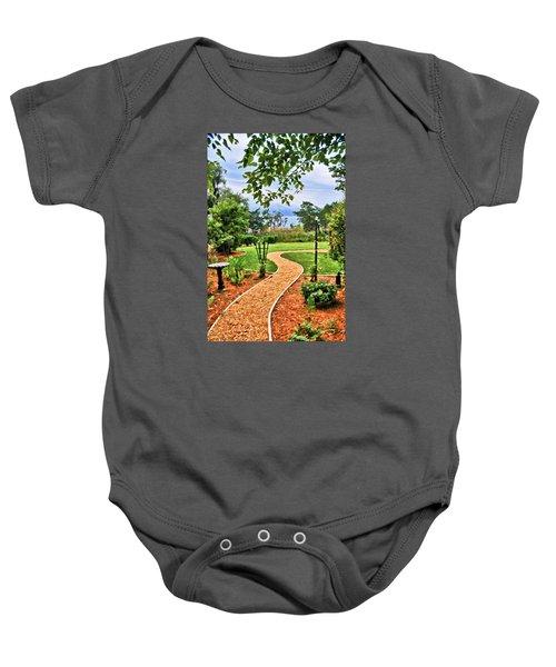 Garden Path To Wild Marsh Baby Onesie