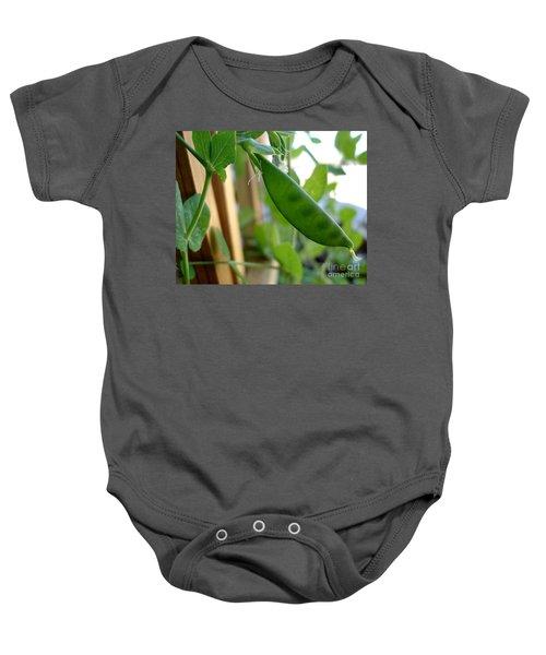 Pea Pod Growing Baby Onesie