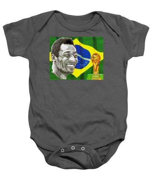 Pele Baby Onesie by Cory Still