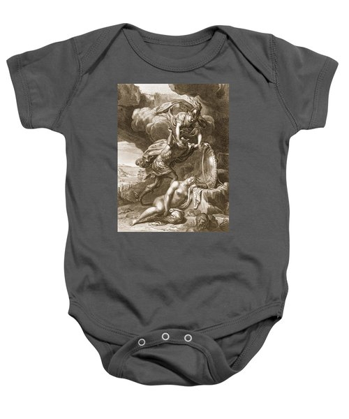 Perseus Cuts Off Medusas Head, 1731 Baby Onesie