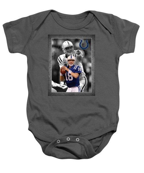 Peyton Manning Colts Baby Onesie