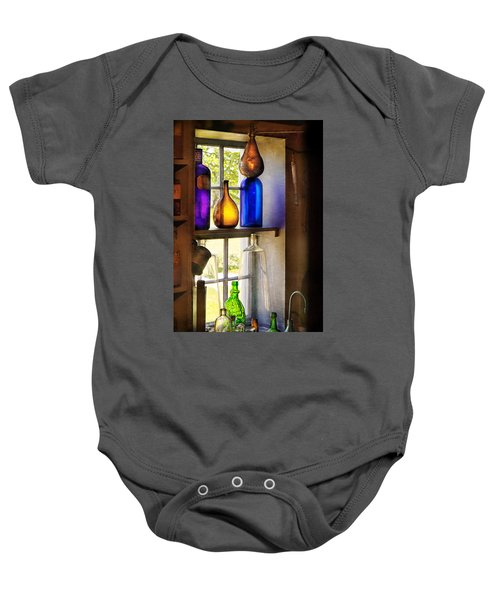 Pharmacy - Colorful Glassware  Baby Onesie