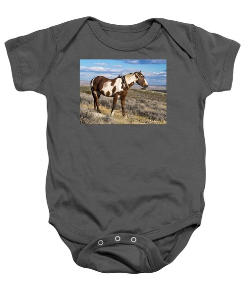 Picasso Of Sand Wash Basin Baby Onesie
