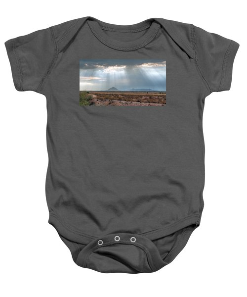 Dancing In The Light Baby Onesie