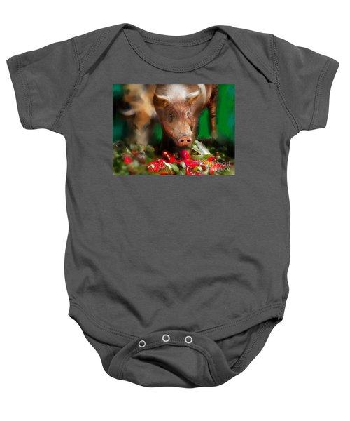 Pigs Baby Onesie