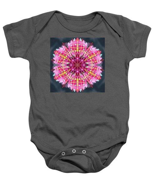 Pink Lightning Baby Onesie by Derek Gedney