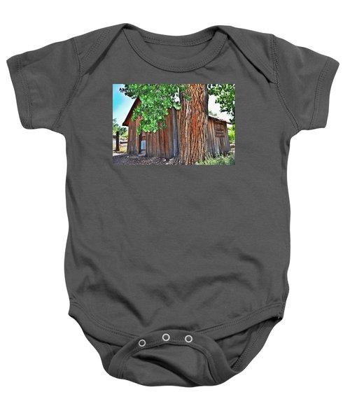 Pioneer Cabin Baby Onesie