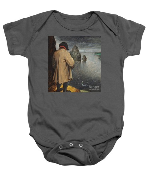 Pissing At The Moon  Baby Onesie