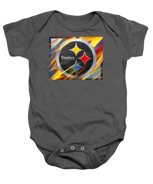 Pittsburgh Steelers Football Baby Onesie