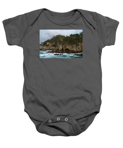 Point Lobos Coastal View Baby Onesie
