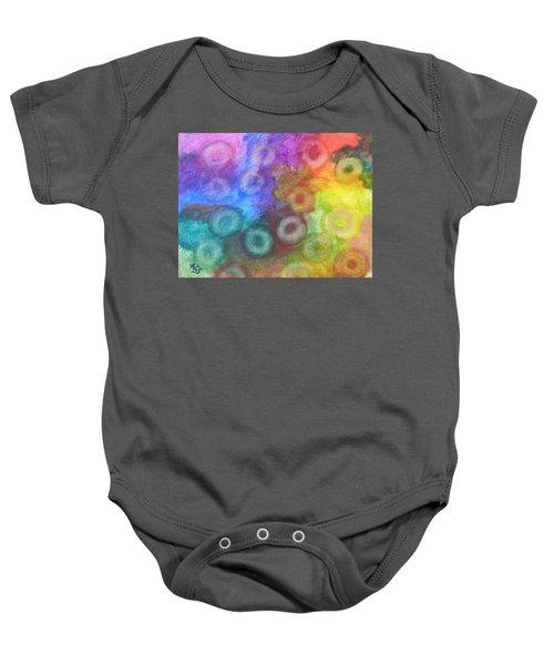 Polychromatic Rbc's Baby Onesie