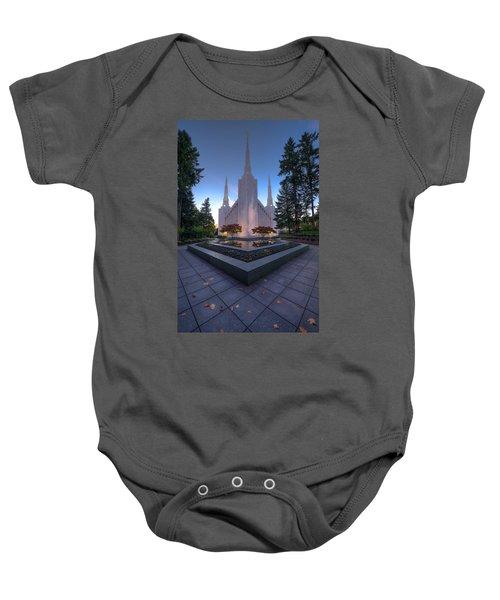 Portland Temple Baby Onesie