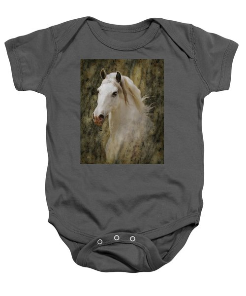 Portrait Of A Horse God Baby Onesie