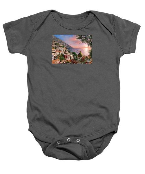 Positano Baby Onesie by Dominic Davison