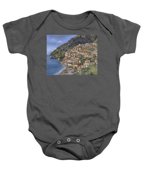 Positano E La Torre Clavel Baby Onesie