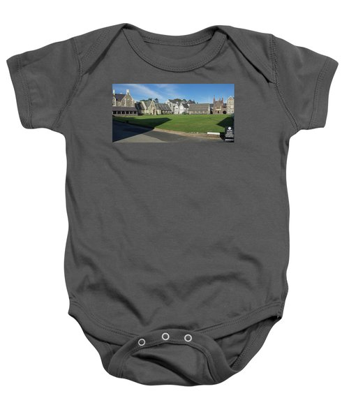 Quad At Christs College, Christchurch Baby Onesie