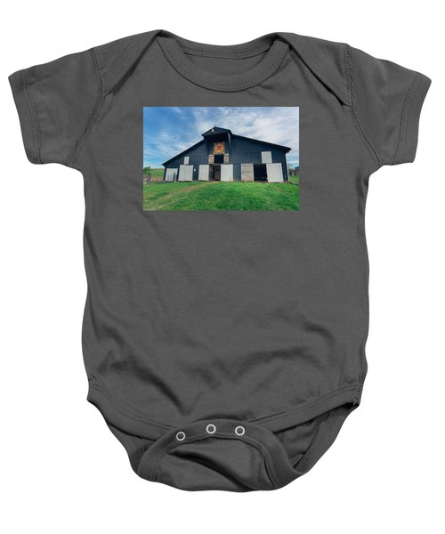 Quilted Barn Baby Onesie