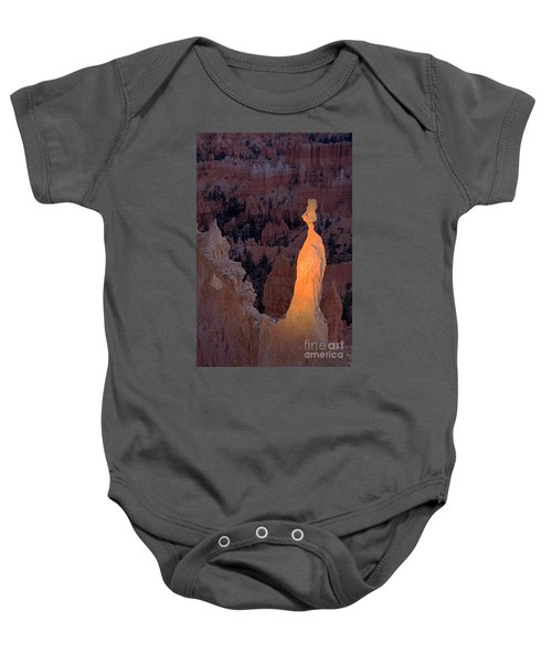 Rabbit Sunset Point Bryce Canyon National Park Baby Onesie