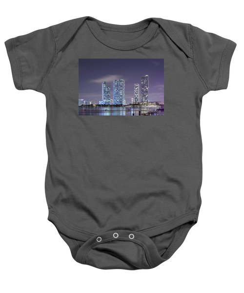 Reach For The Stars Baby Onesie