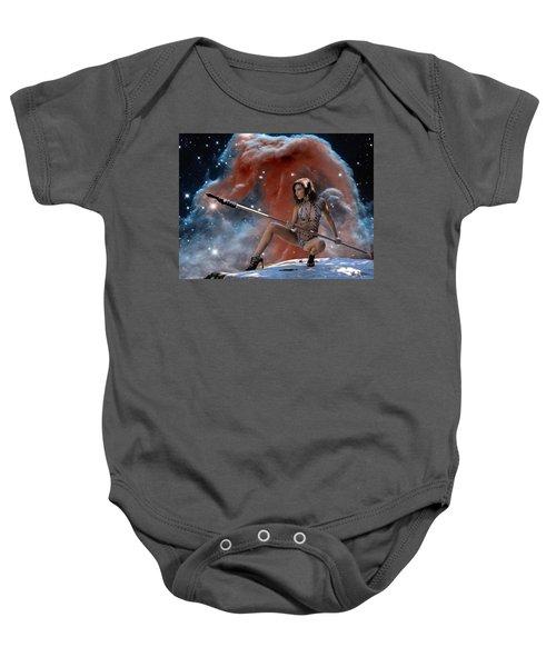 Rebel Warrior Baby Onesie
