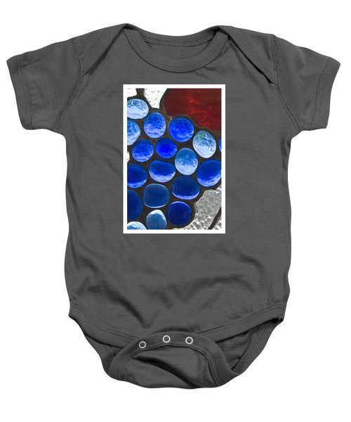 Red Blue Baby Onesie