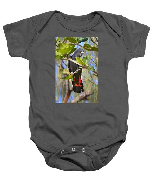 Red-tailed Black-cockatoo Queensland Baby Onesie