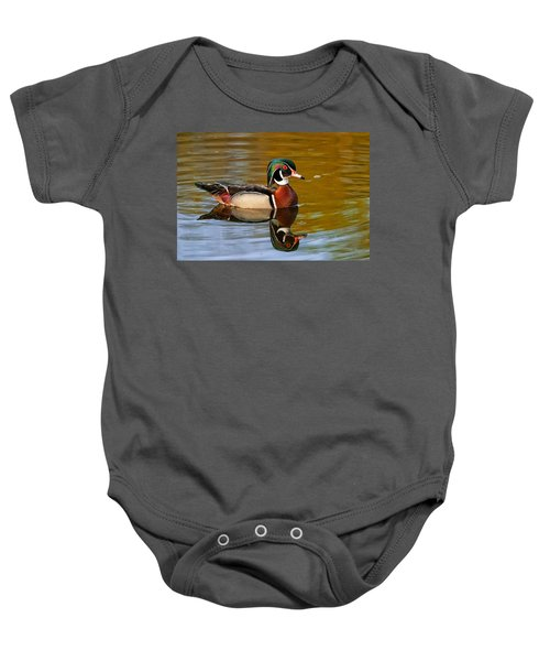 Reflecting Nature's Beauty Baby Onesie
