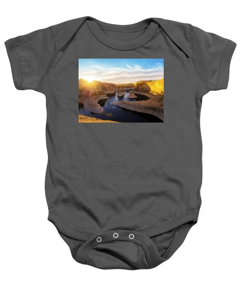 Reflection Canyon Baby Onesie