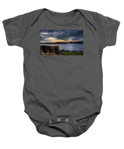 Reflection Time Baby Onesie