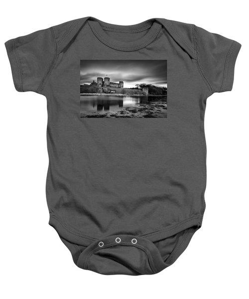Rhuddlan Castle Baby Onesie