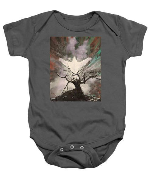 Rising From The Ashes Baby Onesie