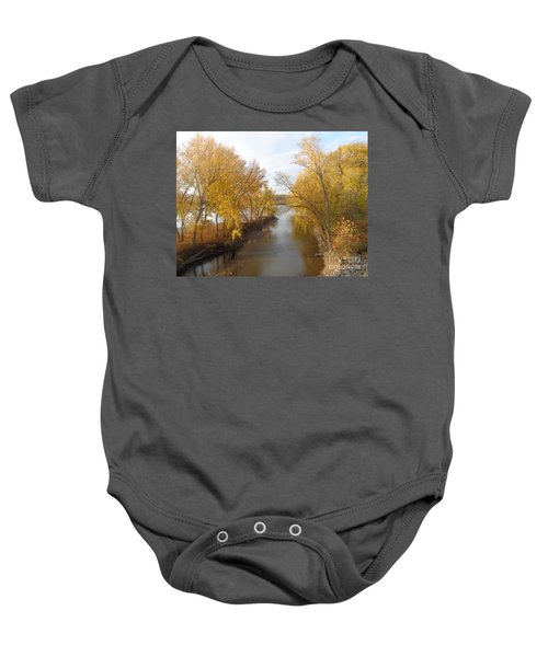 River And Gold Baby Onesie