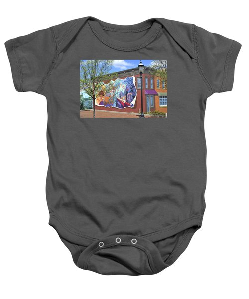 Riverside Gardens Park In Red Bank Nj Baby Onesie