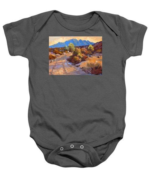 Rock Cairn At La Quinta Cove Baby Onesie