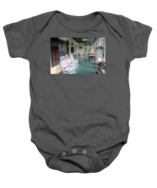Rockers On The Porch Baby Onesie