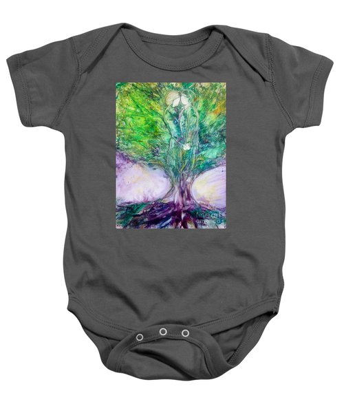 Rooted In Love Baby Onesie