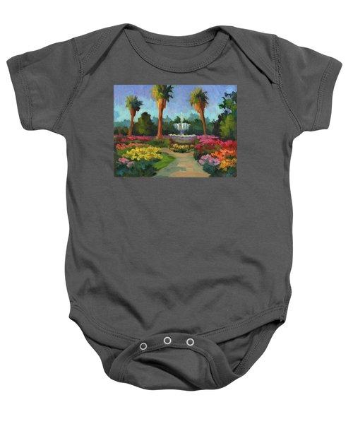 Rose Garden Baby Onesie