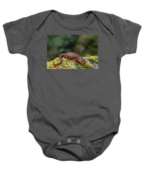 Rough-skinned Newt Oregon Baby Onesie by Gerry Ellis