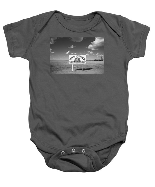 Route 66 - Midpoint Sign Baby Onesie