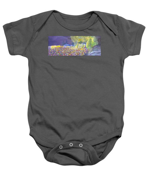 Head For The Hills At The Mish 2011 Baby Onesie