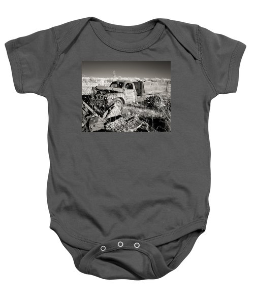 Runs Good   Needs Work Baby Onesie