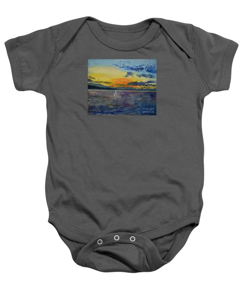 Sailboats Near Stockholm Baby Onesie