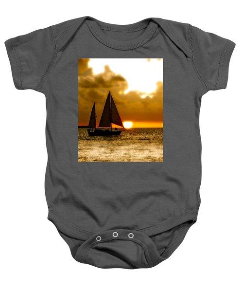Sailing The Keys Baby Onesie
