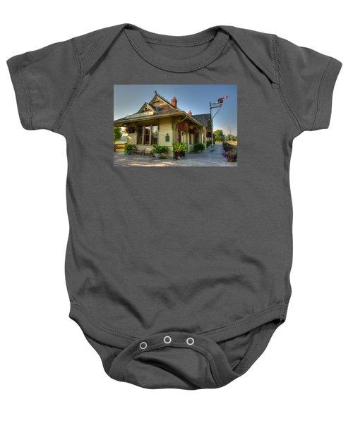 Saint Charles Station Baby Onesie