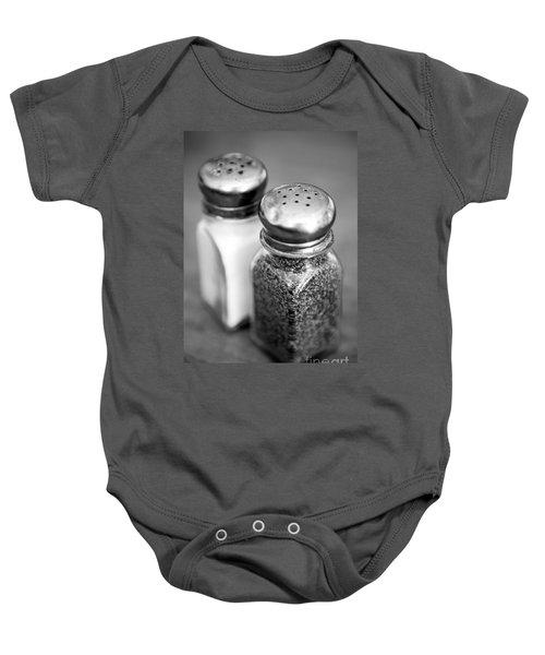 Salt And Pepper Shaker Baby Onesie