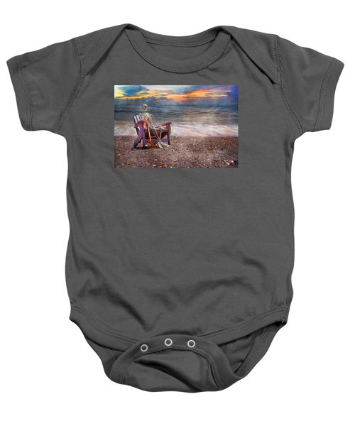 Sam And His Favorite Adirondack Baby Onesie