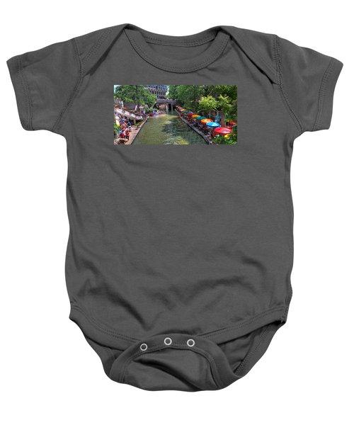 San Antonio Riverwalk Baby Onesie